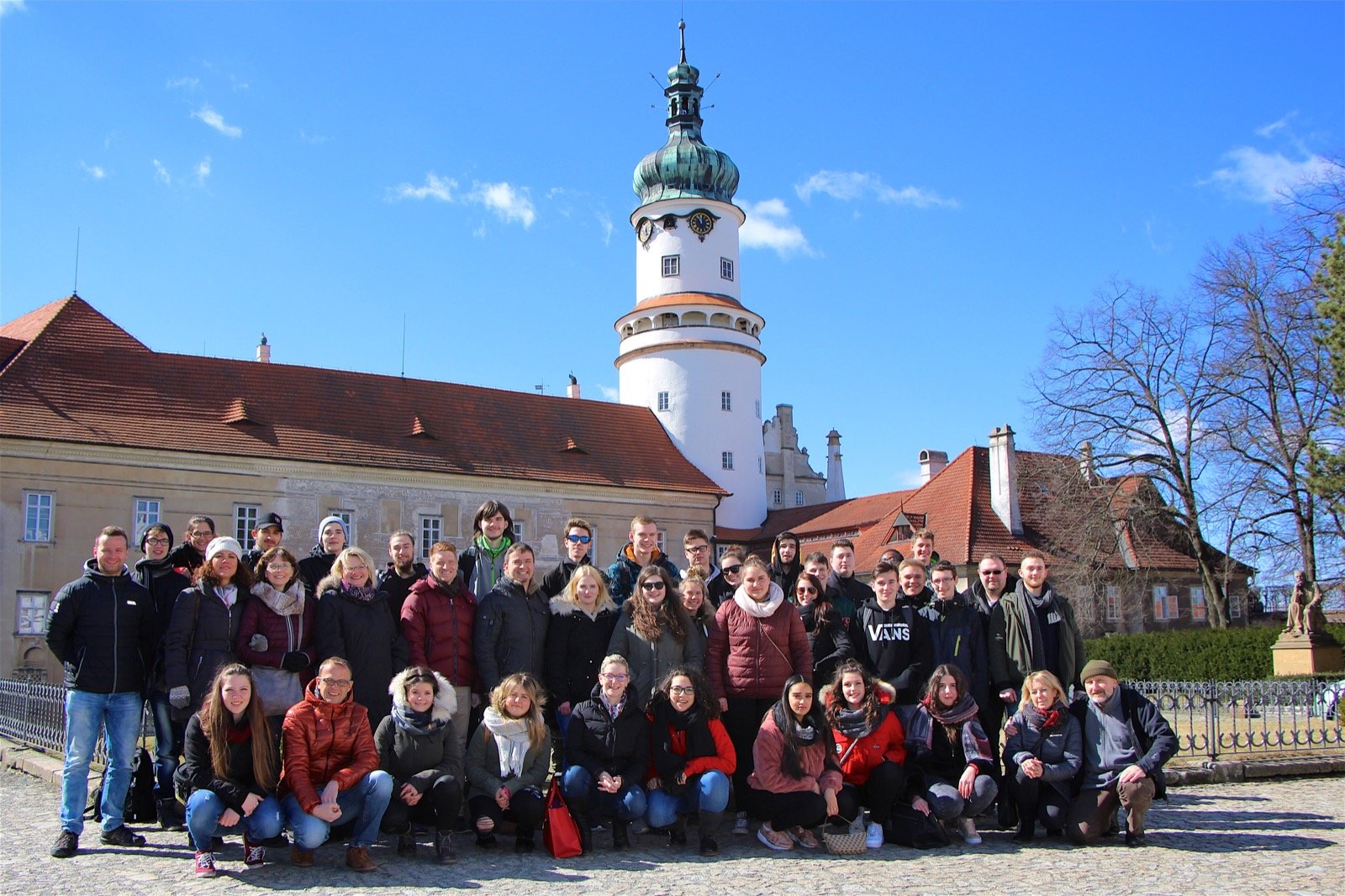 Group picture in Nove Mesto